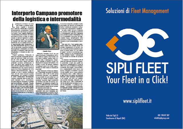 DICEMBRE 2019 PAG. 32 - Interporto Campano promotore della logistica e intermodalità