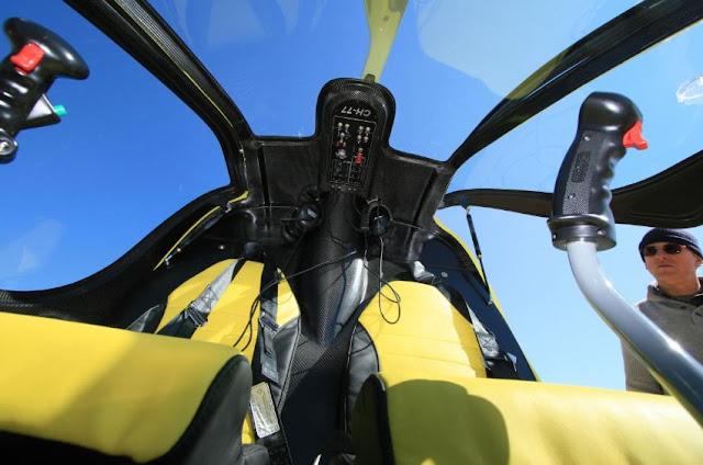 HeliSport CH-77 Ranabot interior cockpit