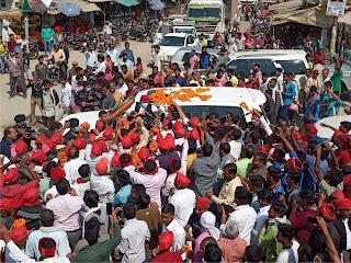 जलालपुर में अखिलेश यादव का हुआ जोरदार स्वागत   | #NayaSaberaNetwork
