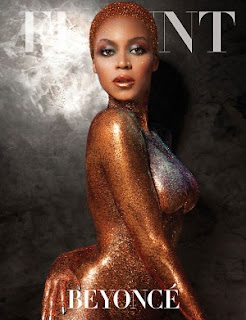 Beyonce is a glittery Beaut On The Cover Of Flaunt Magazine!