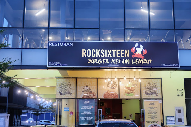 Rocksixteen Burger Ketam Lembut, Kota Warisan
