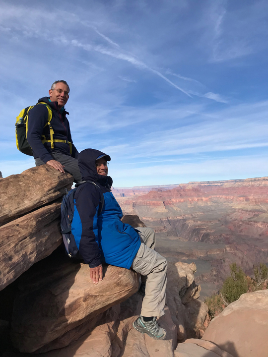 GRAND CANYON: Hike on the South Kaibob Trail, guest post by Tom Scheaffer