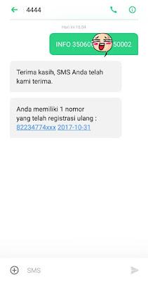registrasi ulang telkomsel via sms