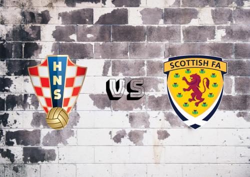 Croacia vs Escocia  Resumen y Partido Completo