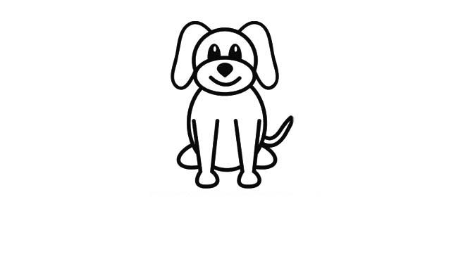 dibujos faciles perros dibujar