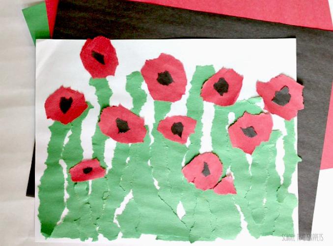 Veteran's Day Poppies