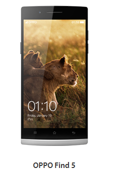 Download Firmware Oppo Find 5 terbaru