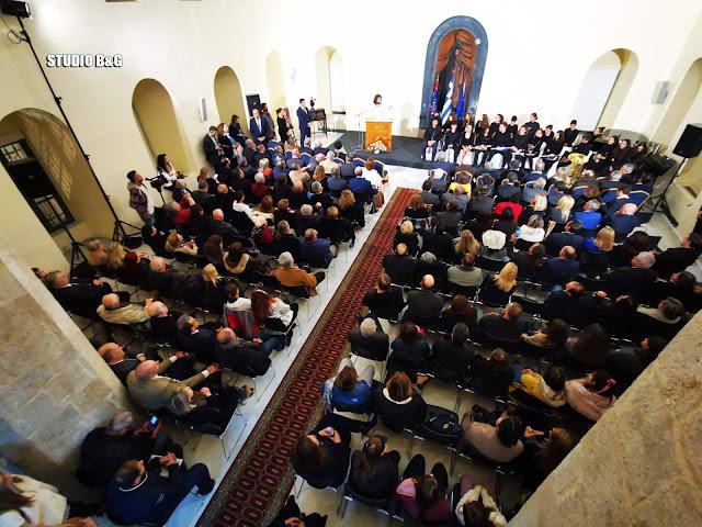 """Τι είπαν Κωστούρος - Αγγελοπούλου στο Ναύπλιο για τις εκδηλώσεις """"Ελλάδα 2021"""""""