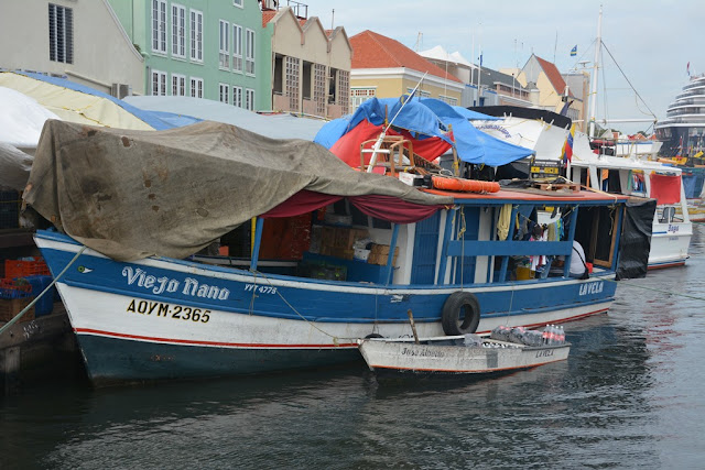 Willemstad Curacao fisher boat