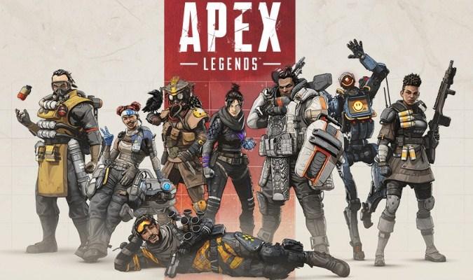 Game Battle Royale Keren Apex Legends