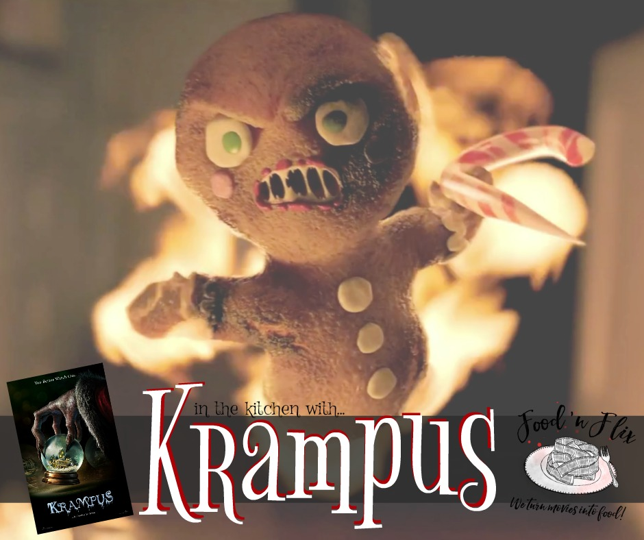 Join us in the kitchen with Krampus | #FoodnFlix in December