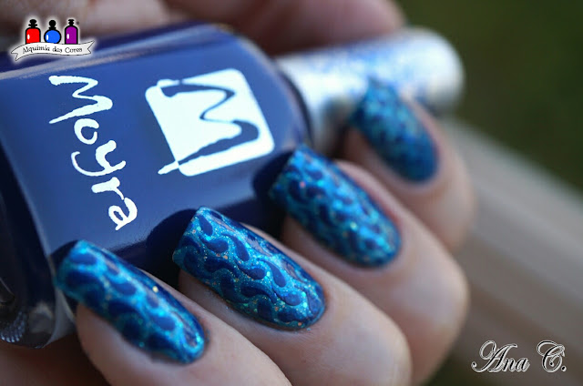 Sinful Colors, Love Nails, Hottie, KN01, Moyra Blue