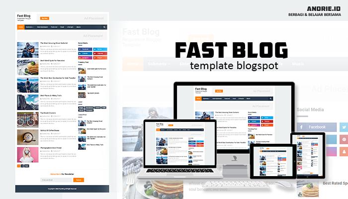 Namina Kiky Fast Blog Responsive Blogger Template and SEO Friendly