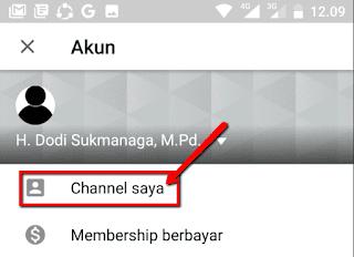 Cara Membuat Channel YouTube Menggunakan Handphone