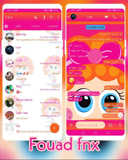 Cute Theme For YOWhatsApp & Fouad WhatsApp By Ave fénix