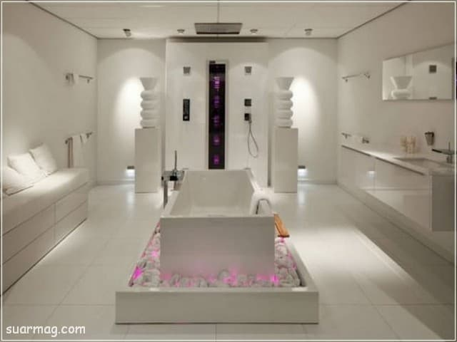 صور حمامات - حمامات مودرن 25 | Bathroom Photos - Modern Bathrooms 25