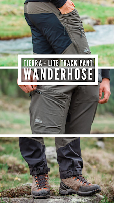 Gear of the Week #GOTW KW 27 | Tierra - Lite Track Pant M | Die rihtige Hose zum Wandern | Wanderhose / Trekkinghose im Test