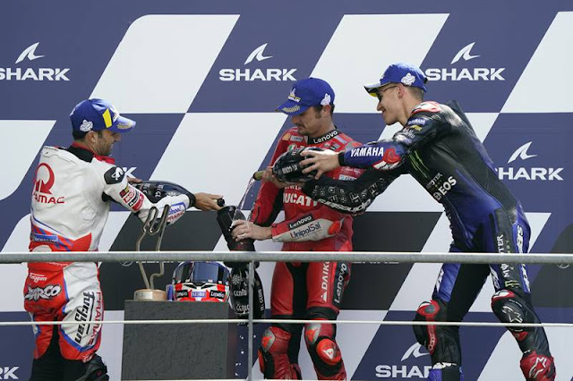 Hasil MotoGP Le Mans Perancis 2021: 2x Long Lap Penalty, Jack Miller Juara
