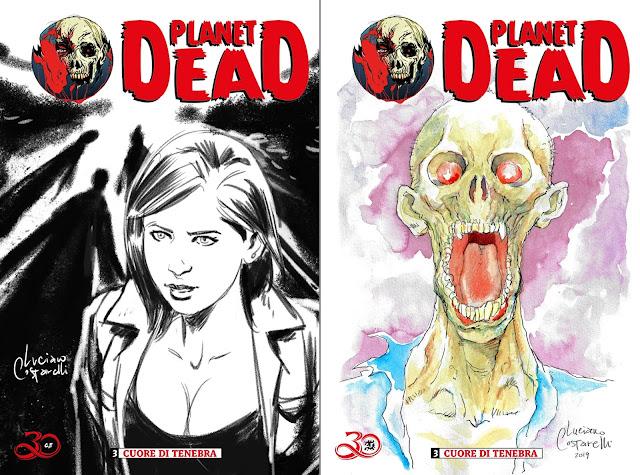 Planet Dead #3: esempi di blank cover personalizzate