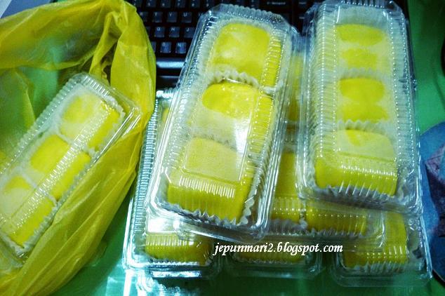 cara buat Durian crepe sedap