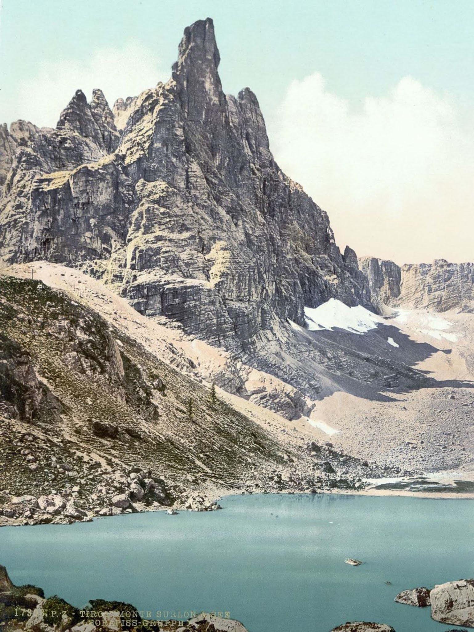Mt. Surlon and Sorapiss.