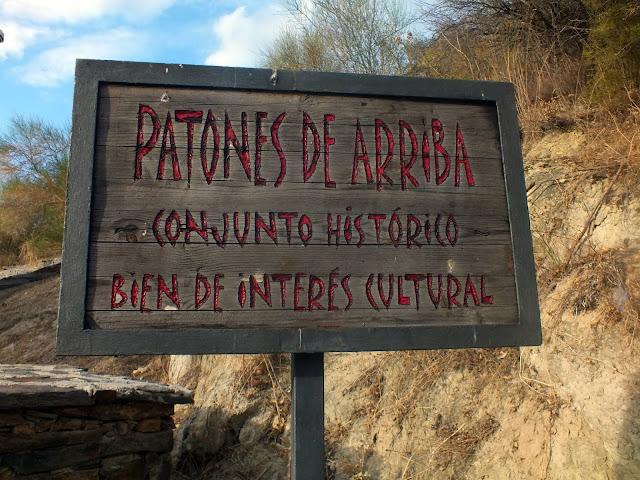 cartel Patones de Arriba