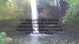 Quotes Makna Air Mengalir