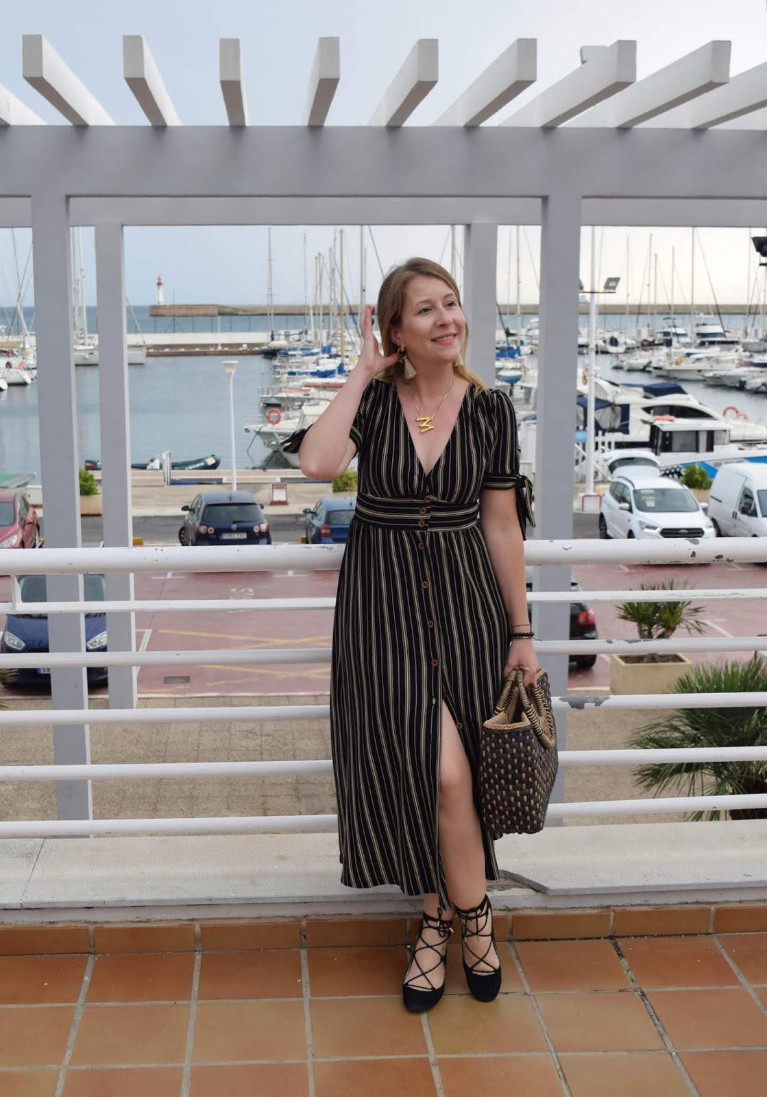 vestido_rayas_bautizo_informal