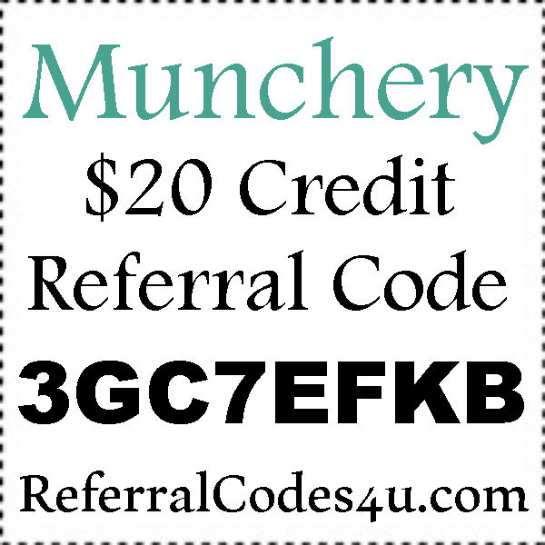 Munchery Invite Codes 2016-2021, Munchery Refer A Friend, Munchery Coupon July, August, September