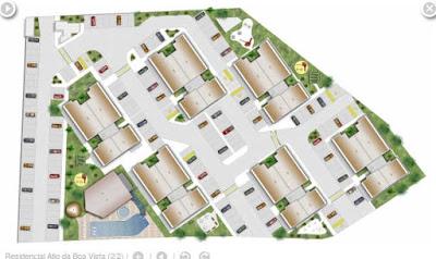 As seis torres estão bem localizadas e em locais estrategicamente pensados para potencializar seu conforto nas áreas comuns.