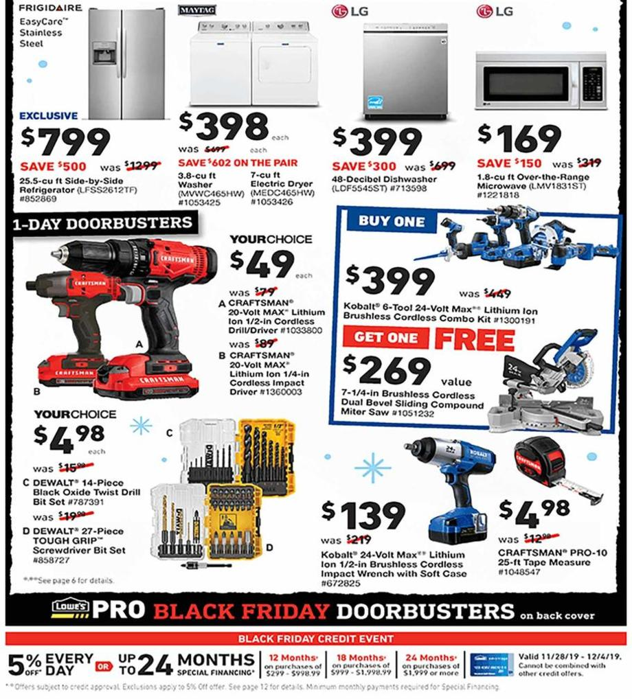 Lowes Black Friday 2019  Page 2