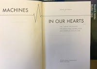 Machines in our Hearts, by Kirk Jeffrey, superimposed on Intermediate Physics for Medicine and Biology.