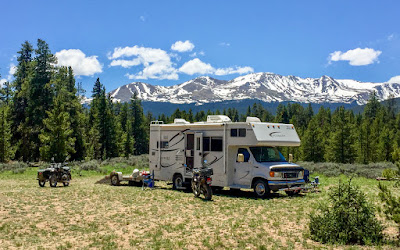 Back to Boondocking near Turquoise Lake, near Leadville, CO