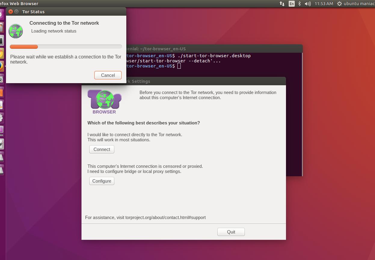 скачать tor browser ubuntu