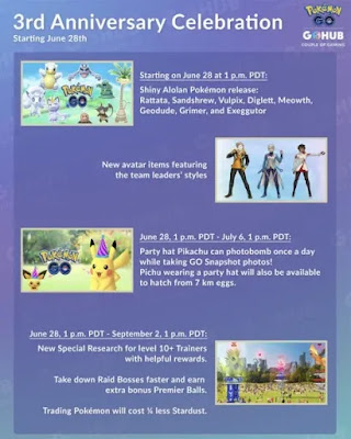 Pokemon GO event, latest gaming news, Pokemon GO date, Pokemon GO Third Anniversary, Pokemon GO community, Pokemon trading, mudkip pokemon, mudkip pokemon go, video games 2019, pokemon go events 2019,