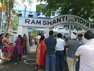 राम शांति स्कूल पांढुरना मैं पालक हो रहे हैं मनमानी फीस वसूली से परेशान