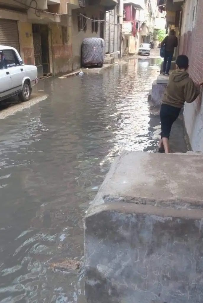 In the video: the reasons for the flooding of the city of Alexandria by rain