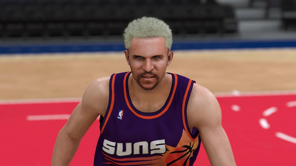 Jason Kidd Cyberface, Blond hair and body Model by martoluthor [FOR 2K20]