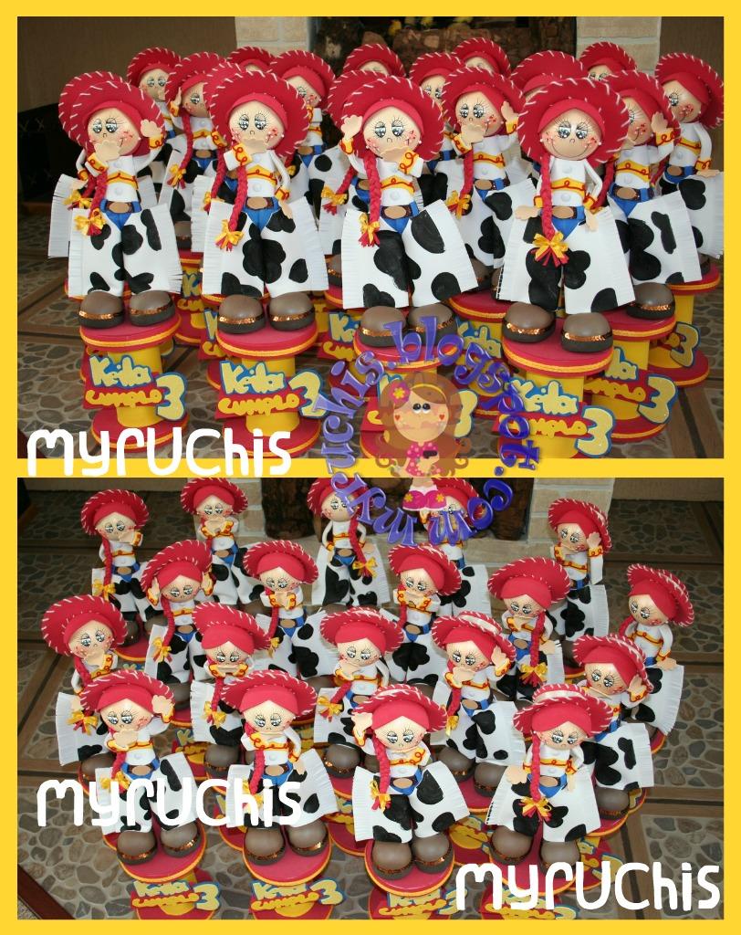 Jessie Y Story Para Fiesta Infantil De