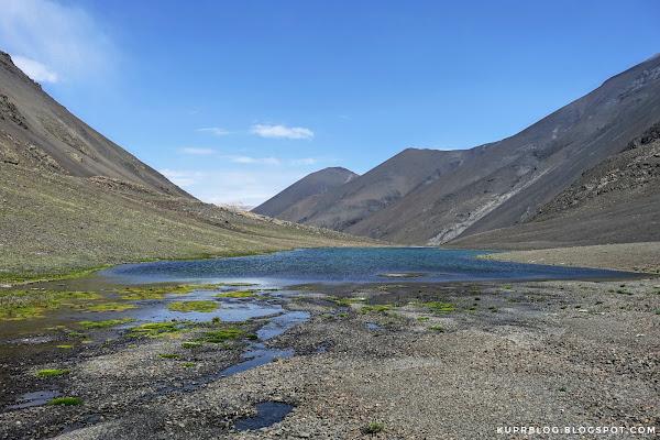 Малое озеро Туфангёль (Тфанское озеро).