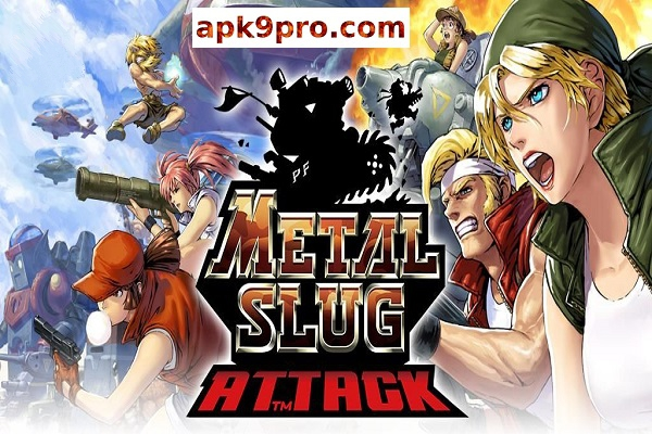 METAL SLUG ATTACK 4.17.0 Apk + Mod (File size 69 MB) for android