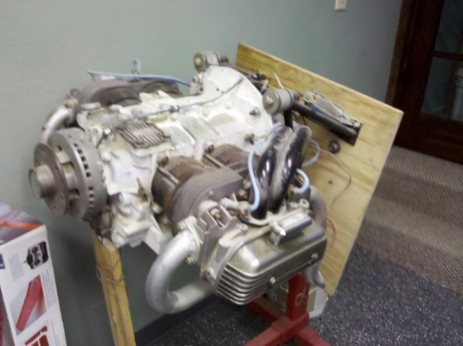 Building the VW Whispher: Engine before overhaul