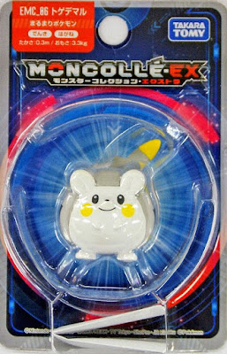 Togedemaru figure Takara Tomy Monster Collection MONCOLLE EX EMC series