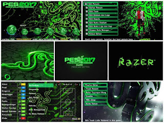 Textures Razer Green Theme HD for PES PSP Android