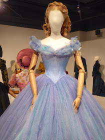 Lily James Cinderella ball gown