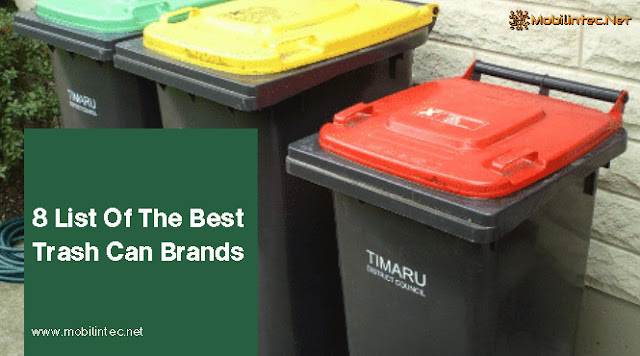 8 List Of The Best Trash Can Brands