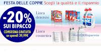 Logo Sconto -20% Linea detersivi e Linea cosmetica di Casa Henkel (spedizione gratis)