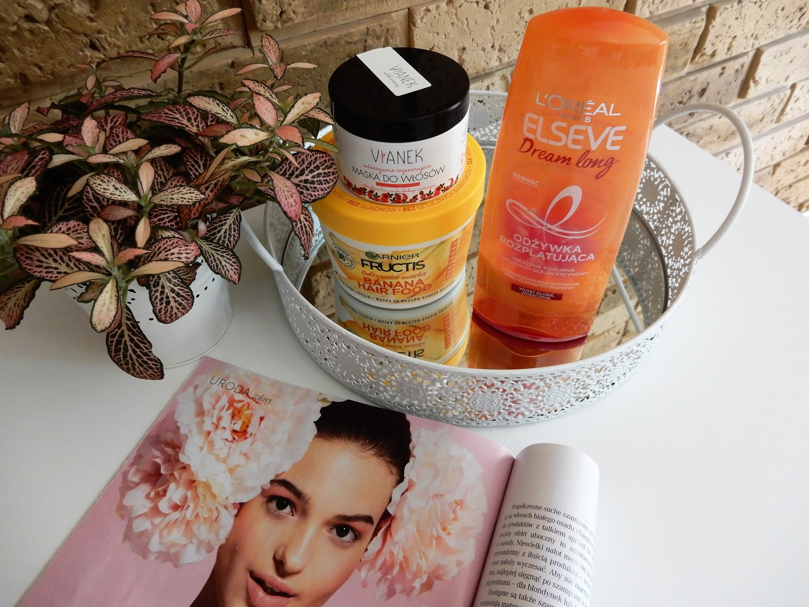 Kosmetyki do pielęgnacji włosów| Dwie maski i odżywka