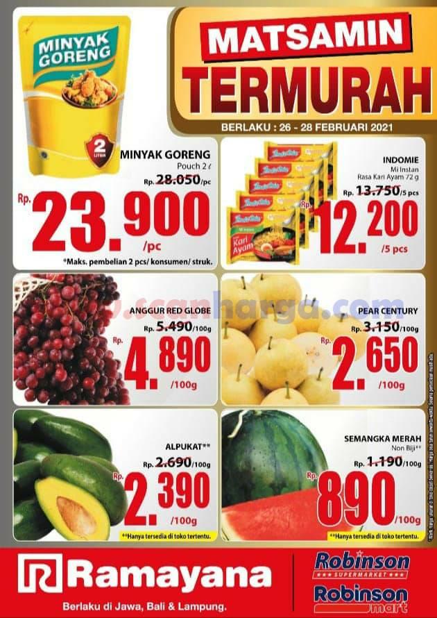 Katalog Promo SPAR Dan Ramayana Supermarket 26 - 28 Februari 2021 1