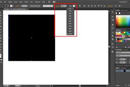 Cara Transparansi Objek di Adobe Illustrator